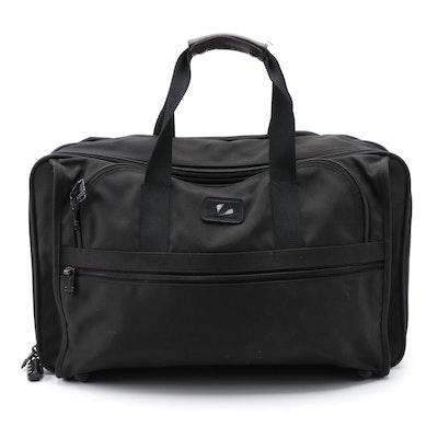 Tumi 2678D3 Expandable Soft Suitcase in Black Ballistic Nylon