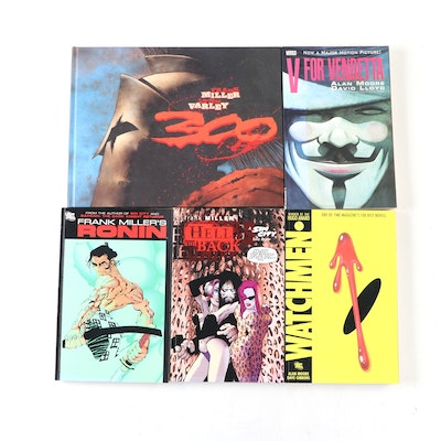 """""""Watchmen,"""" """"V for Vendetta,"""" """"300,"""" and Other Graphic Novels"""