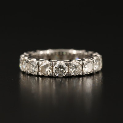14K 3.23 CTW Diamond Eternity Ring