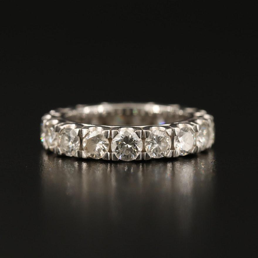 14K 3.23 CTW Diamond Eternity Ring