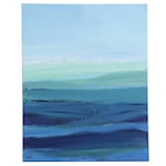 Lee Hafer Abstract Lanscape Acrylic Painting