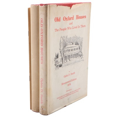 "Signed ""Old Oxford Houses"" by Ophia D. Smith and Other Books"