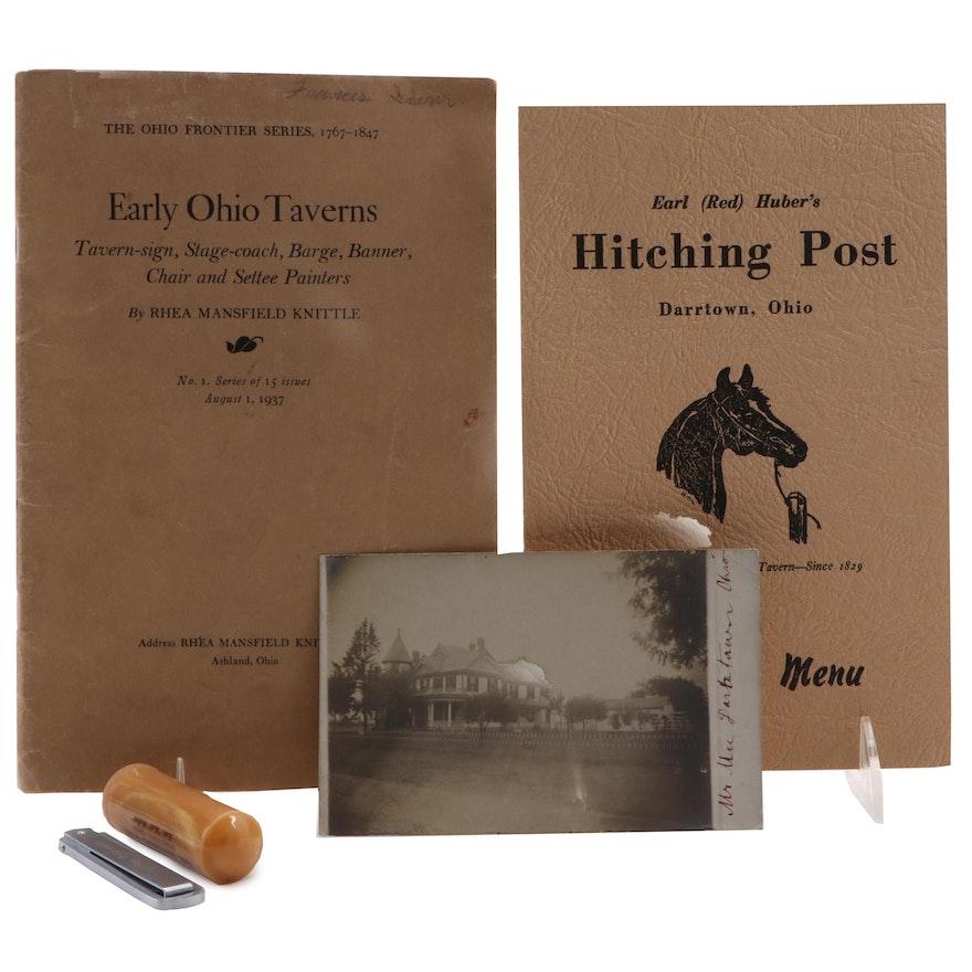 "Earl ""Red"" Huber's The Hitching Post, Darrtown, Ohio Memorabilia"