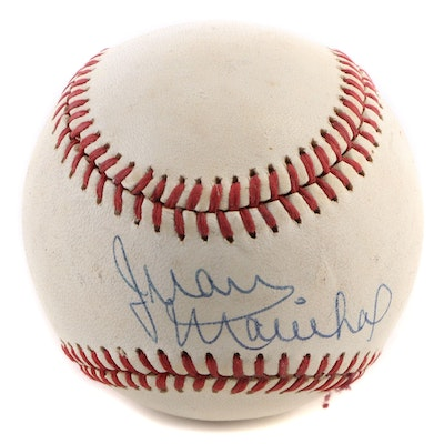 Juan Marichal (HOF) Signed Rawlings National League Baseball