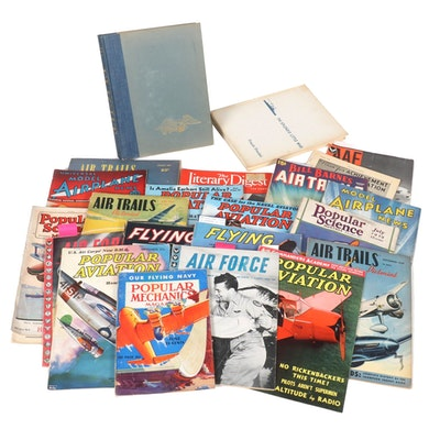 Air Force and Aviation Books, and Periodicals, 1920s to 1960s