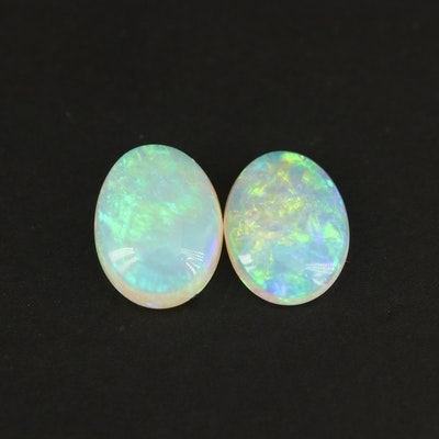 Loose 1.54 CTW Oval Opal Cabochon