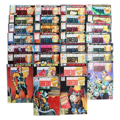 """Collection of """"The Law of Dredd"""" Comics"""