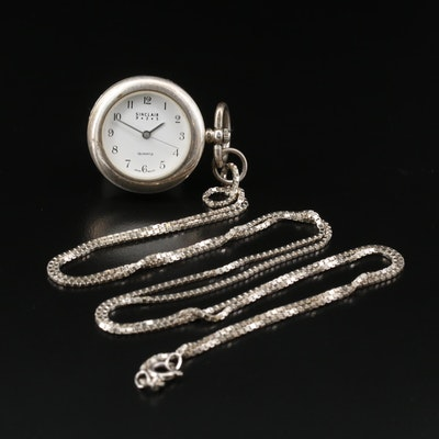 Sterling Silver Sinclar Quartz Pendant Watch
