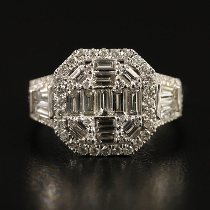 14K 1.50 CTW Diamond Ring