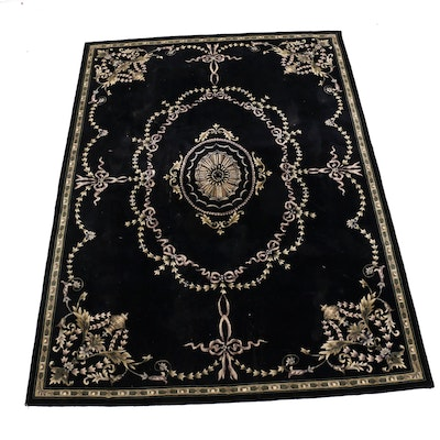 8' x 11' Hand-Tufted Chinese Sculpted Area Rug