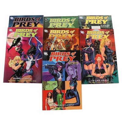 """Collection of """"Birds of Prey"""" Graphic Novels"""