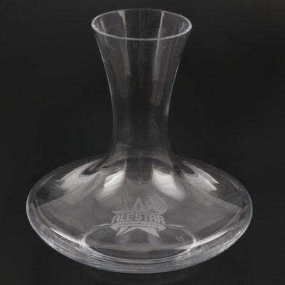 2013 Houston, Texas NBA All-Star Game Presentation Waterford Vase