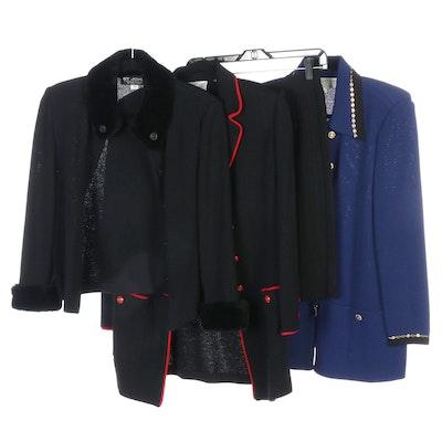 St. John Collection Knit Jackets with St. John Basics Skirt
