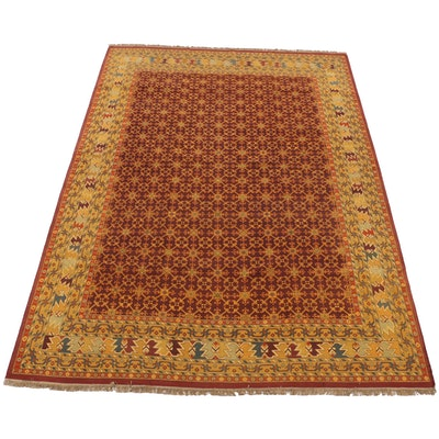 9'9 x 14'3 Handwoven Safavieh Indian Sumak Collection Room Sized Rug