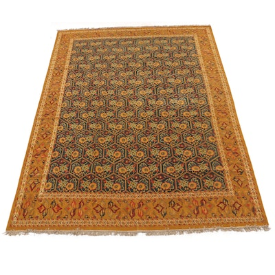9'8 x 14'1 Handwoven Safavieh Indian Sumak Collection Room Sized Rug