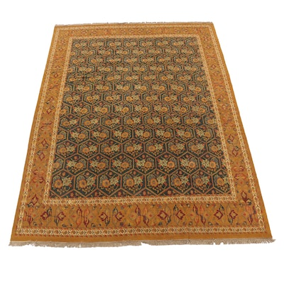 9'10 x 13'7 Handwoven Safavieh Indian Sumak Room Sized Rug