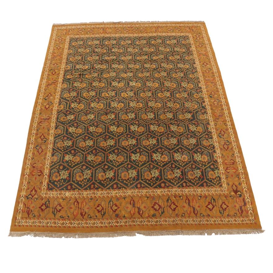 9'10 x 13'7 Handwoven Safavieh Indian Sumak Room Sized Rug