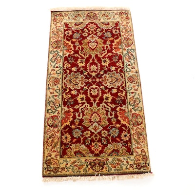 2'0 x 4'1 Hand-Knotted Indo-Persian Tabriz Rug