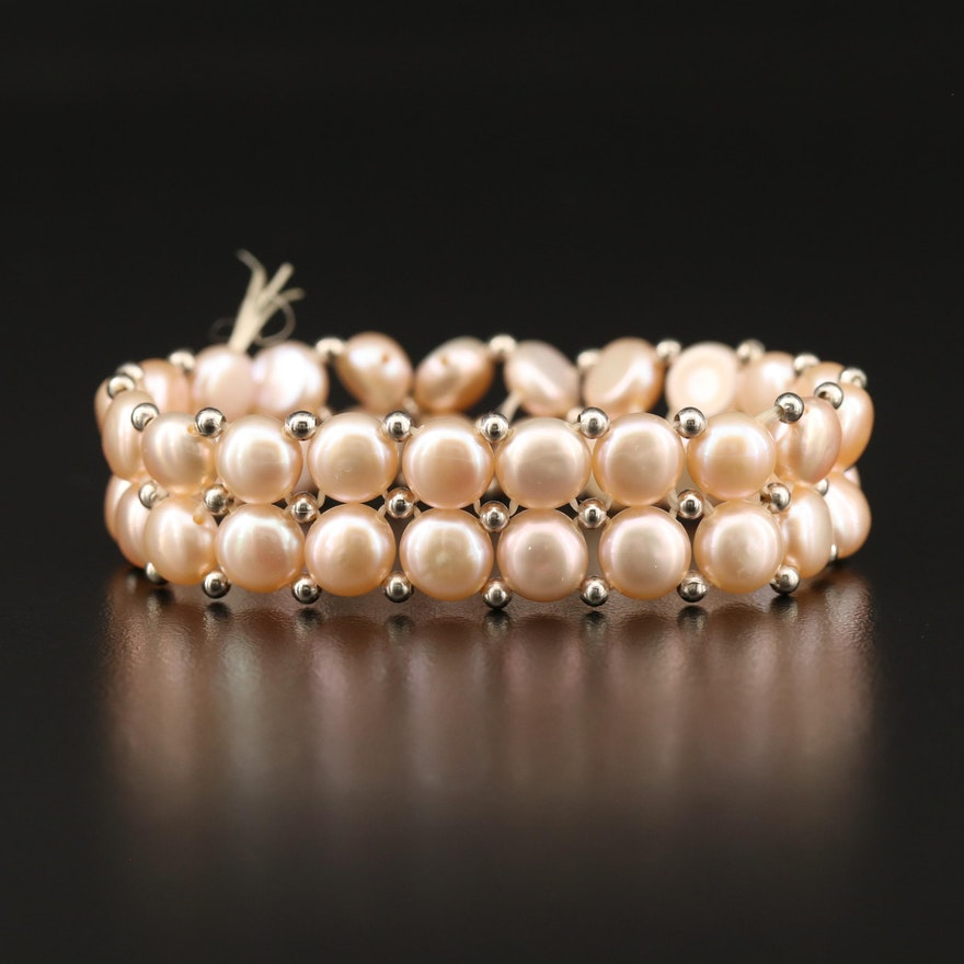 Pearl Expandable Bracelet