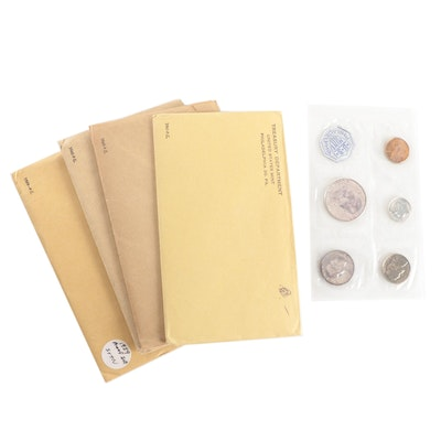 1959-1961 US Mint Proof Sets