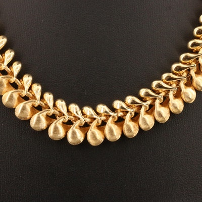 "Nanis Italian Jewels ""Transformista"" 18K Necklace"