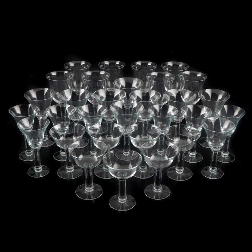Handblown Crystal Stemware from Horchow