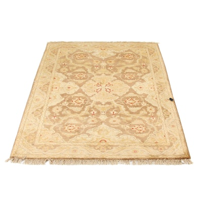 4'10 x 6'4 Hand-Knotted Peshawar Wool Rug