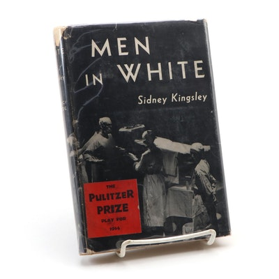 "Signed Third Printing ""Men in White: A Play"" by Sidney Kingsley, 1934"