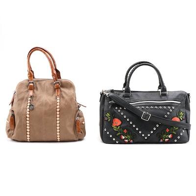 Big Buddha and Torrid Two-Way Handbags