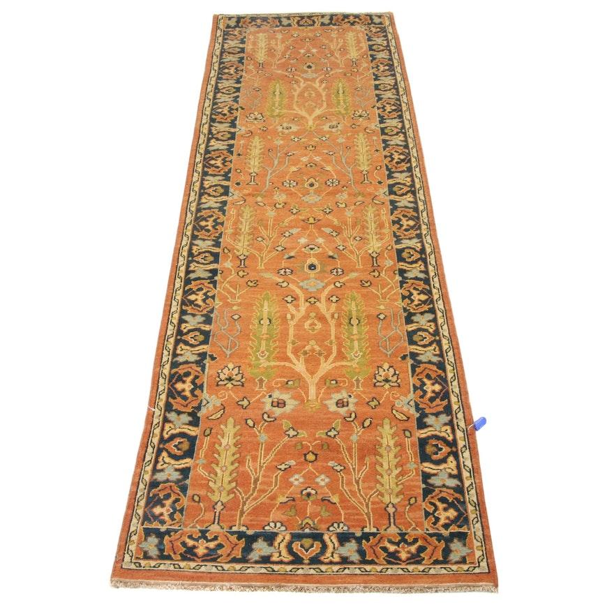 2'7 x 9'9 Handwoven Safavieh Indian Sumak Collection Carpet Runner
