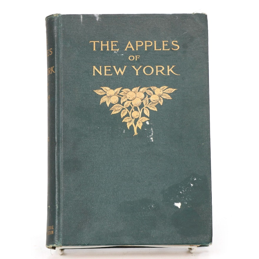 """Illustrated """"The Apples of New York"""" Volume II by S. A. Beach, 1905"""