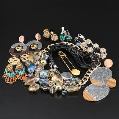 Assorted Jewelry Featuring Dotty Smith and Sterling