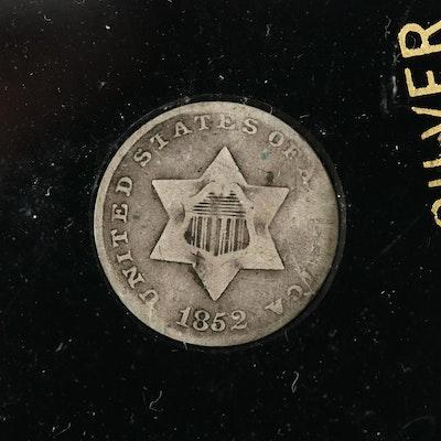 "1852 3-Cent Silver ""Trime"""