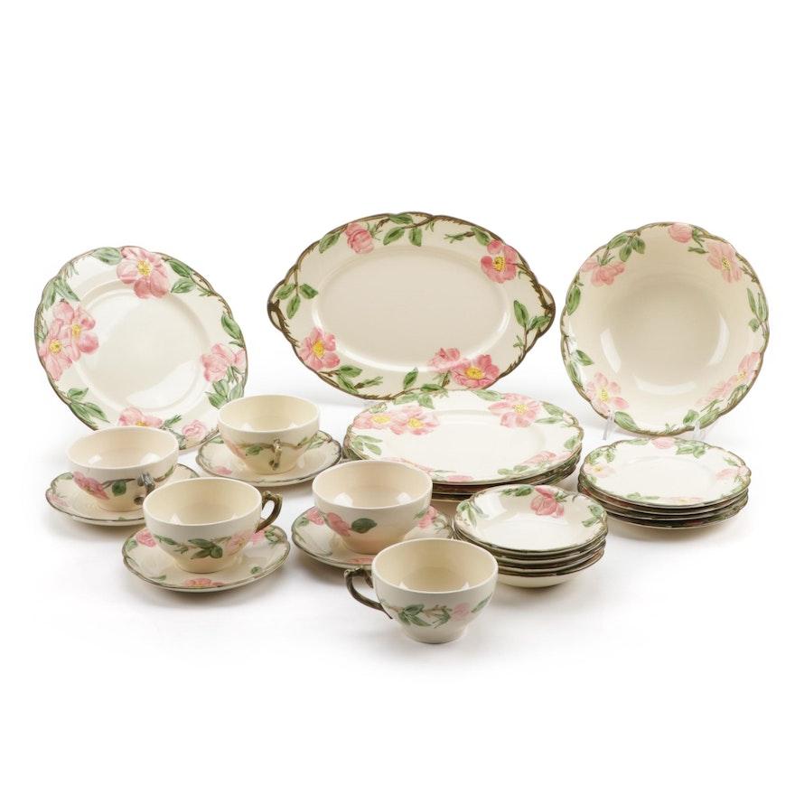 "Franciscan ""Desert Rose"" Earthenware Dinnerware and Serveware, 1941–1984"