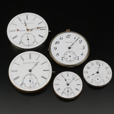 Elgin Pocket Watch Movements