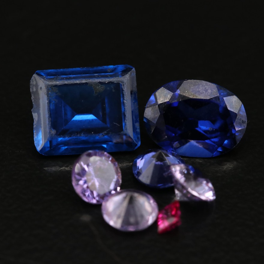 Loose Laboratory Grown Sapphires and Spinels