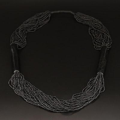 Resin Multi Strand Necklace