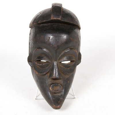 Chokwe Style Wooden Mask, Central Africa