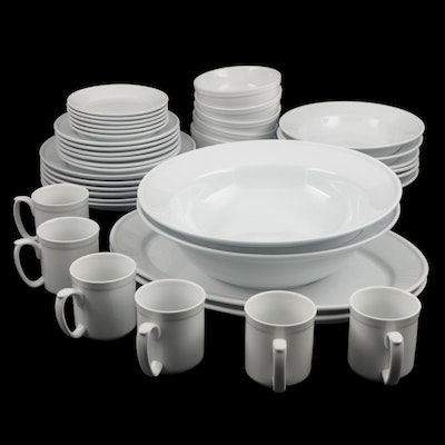 Williams-Sonoma Pantry Essentials White Dinnerware and Serving Pieces