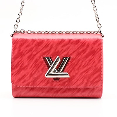 Louis Vuitton Twist PM Shoulder Bag in Grenade Epi Leather