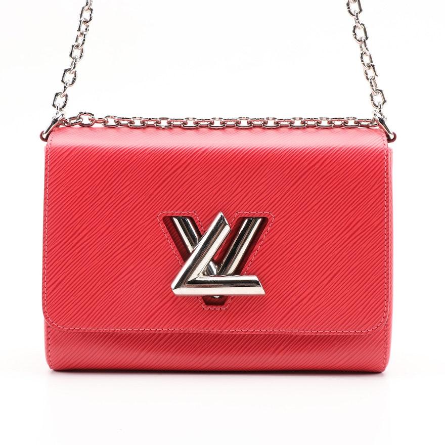 Louis Vuitton Twist PM Shoulder Bag in Grenade Epi Leather