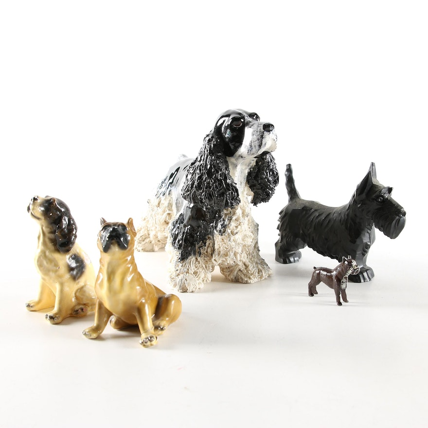 Jane Callender, Morten's Studios and Other Dog Figurines, Mid to Late 20th C.
