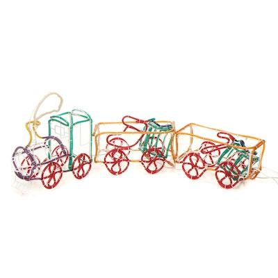 Timeless Sensations Locomotive Ropelight Lawn Décor, Vintage