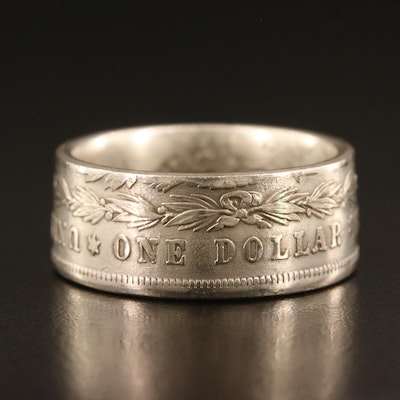 Replica Morgan Dollar  Coin Ring