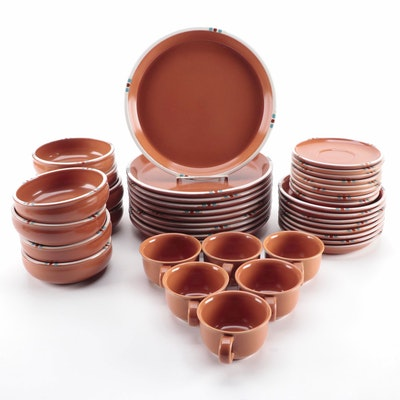 "Dansk ""Mesa Terracotta"" Dinnerware Pieces, 1990–1991"