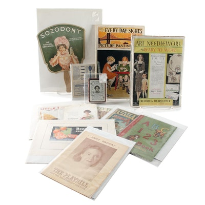 Vintage and Antique Advertising Memorabilia, Children's Books and Activities