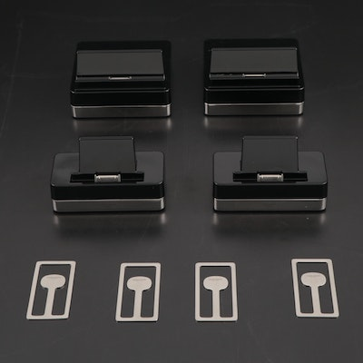 Georg Jensen Stainless Steel Money Clips and Apple Accessories