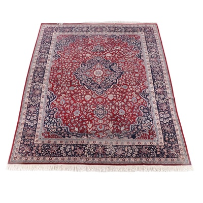 8'11 x 13'1 Hand-Knotted Royal Gallery of Rugs Floral Wool Rug