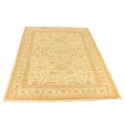 9'10 x 13'10 Handwoven Indian Sumak Wool Rug