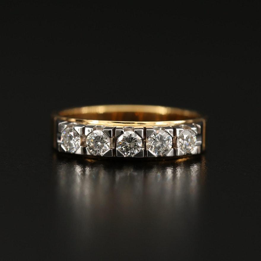 Salvini 18K Diamond Ring